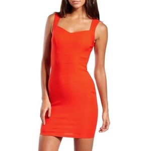 Charlotte Russe Red Millenium Bodycon Dress